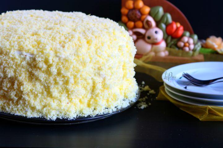 Torta mimosa all'ananas_Festa della donna