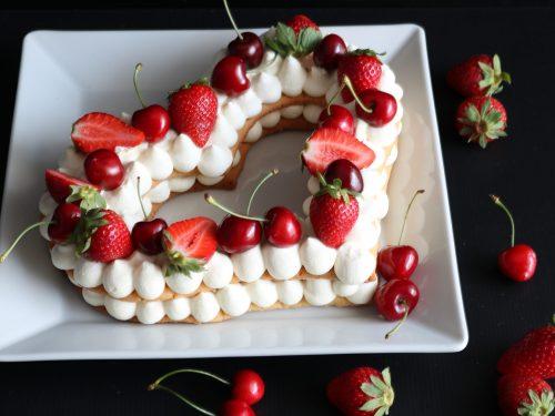 Cream Tart con fragole e ciliegie