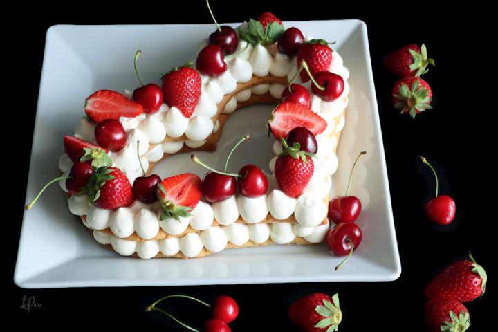 Cream Tart fragole e ciliegie - l'Apina in cucina
