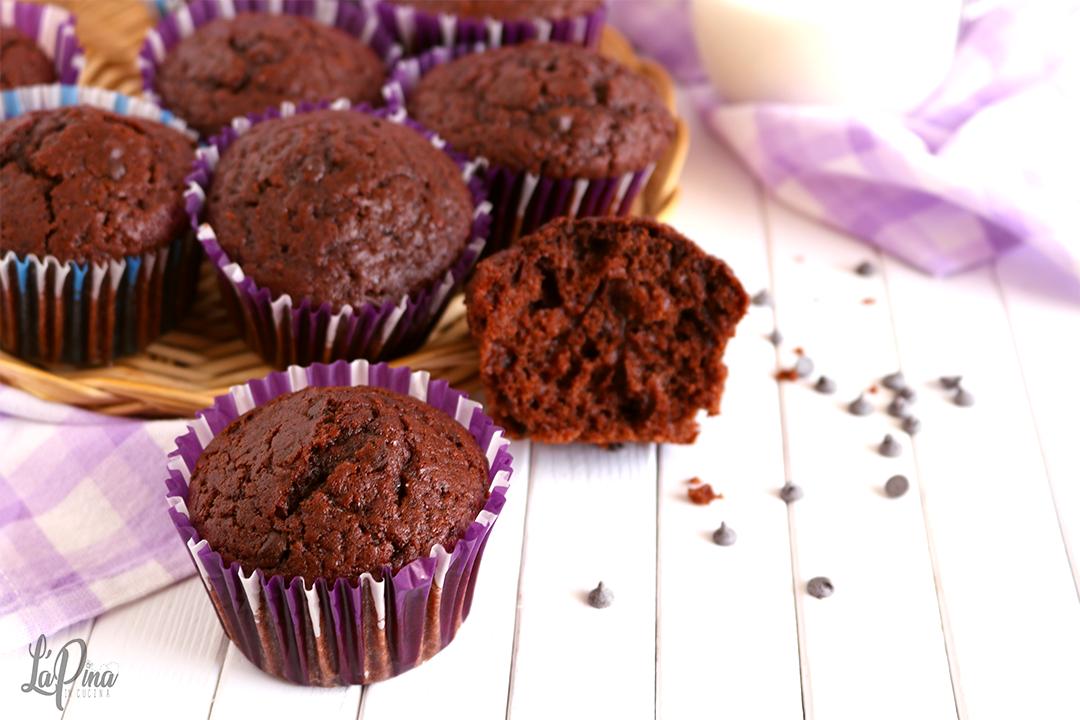 muffin al cioccolato - l'aPina in cucina