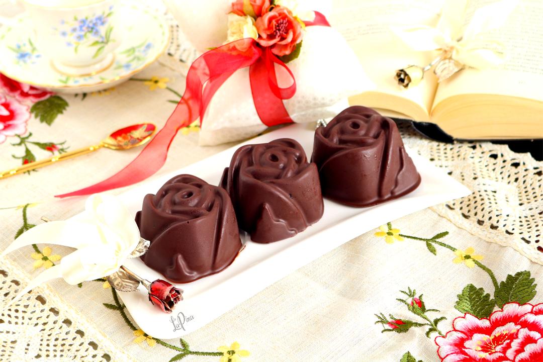 rose di cioccolato e pan di spagna - l'aPina in cucina