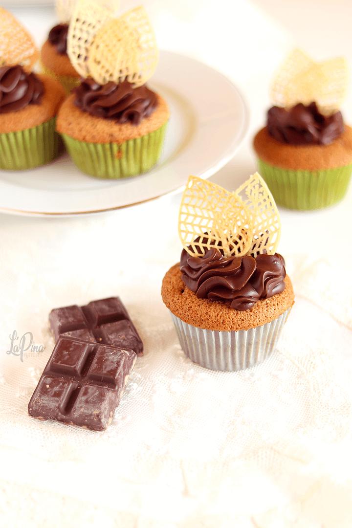 Cupcake moka e cioccolato - l'aPina in cucina