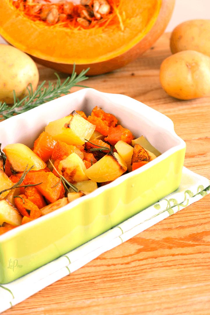 Patate e zucca al forno - l'aPina in cucina