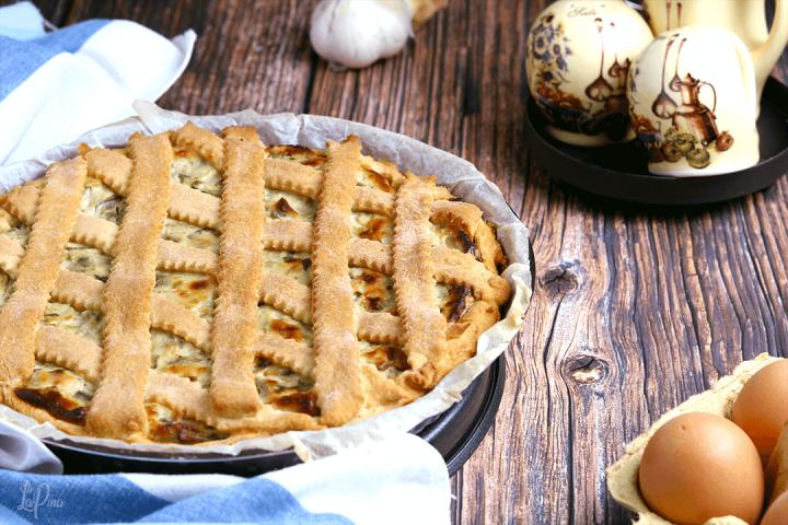 Torta salata con carciofi e ricotta - l'aPina in cucina