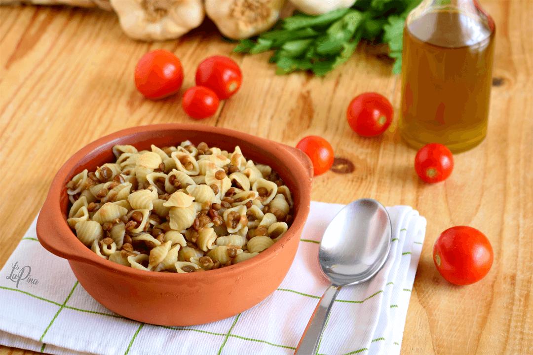 Pasta e lenticchie - l'aPina in cucina