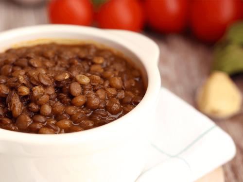Zuppa di lenticchie e pomodoro