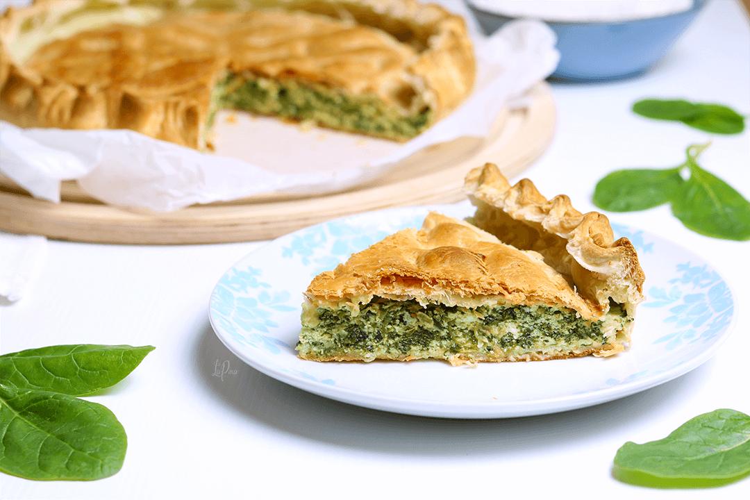 Torta rustica ricotta e spinaci   l'aPina in cucina