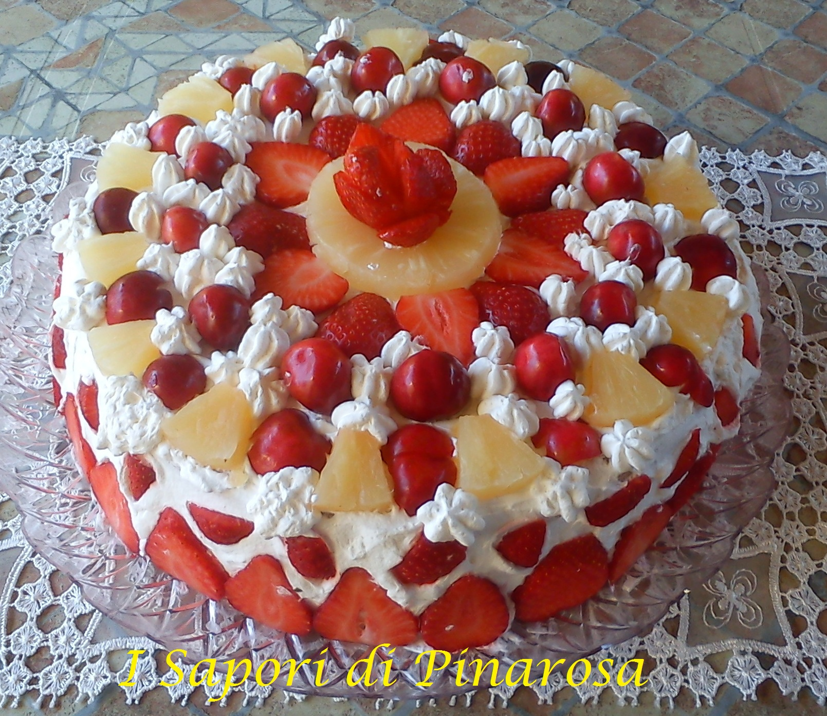 Ricette torta compleanno alla frutta for Idee per torta di compleanno