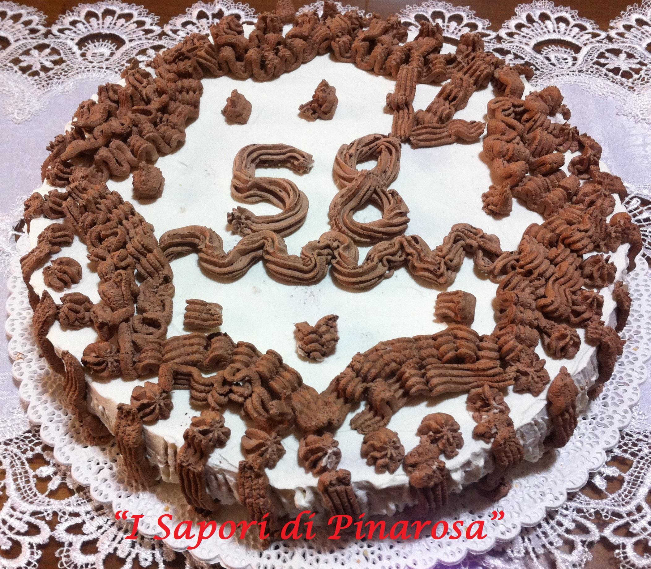 Torta panna e crema per tutte le occasioni (compleanni, feste, etc.)