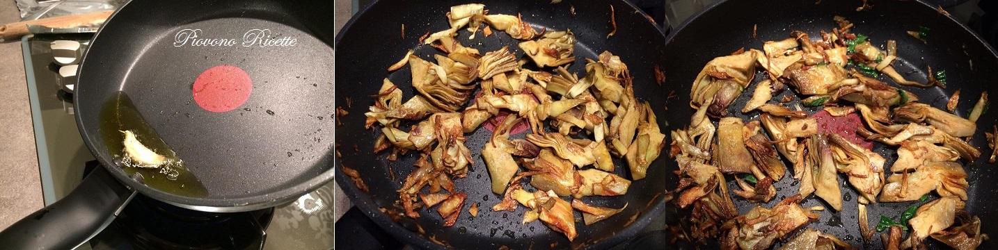 risotto con carciofi