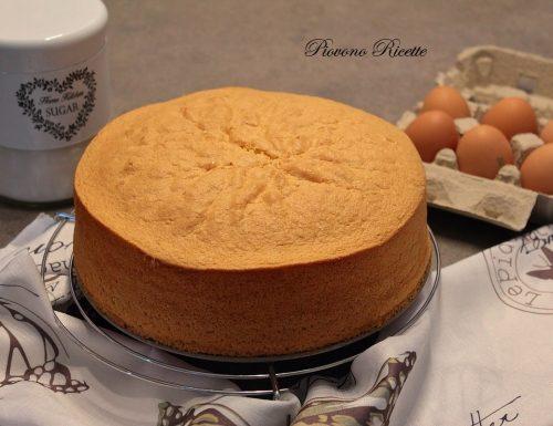 Pan di Spagna – alto e soffice, perfetto per essere farcito
