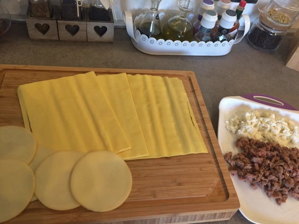 lasagne con cime di rape