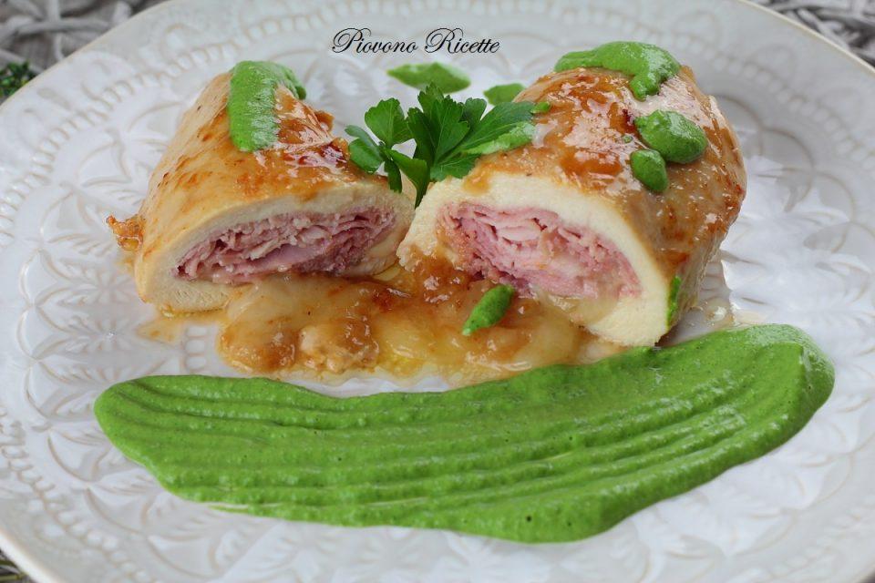 petto di pollo ripieno con prosciutto e formaggio