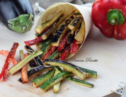 Verdure in pastella – croccanti, leggere e senza glutine