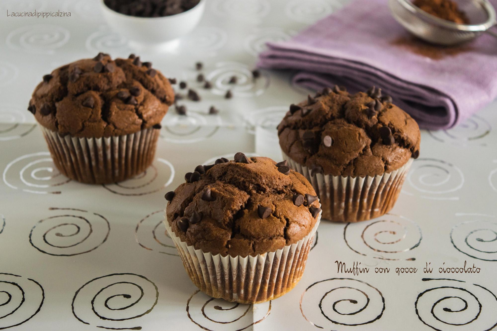 Muffin-con-gocce-di-cioccolato