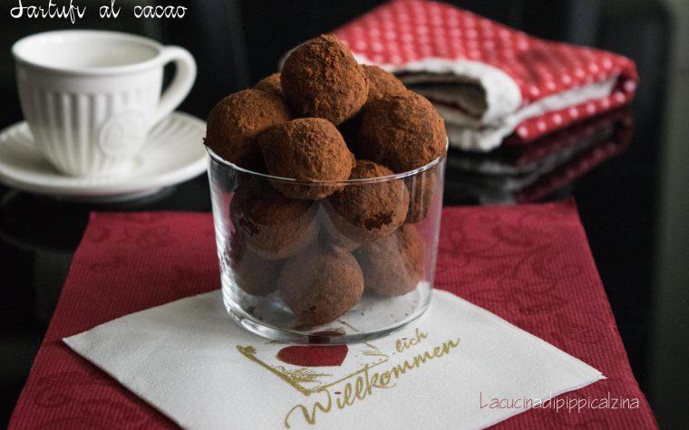 Tartufi al cacao e mascarpone