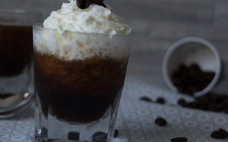 Granita morbida al caffè