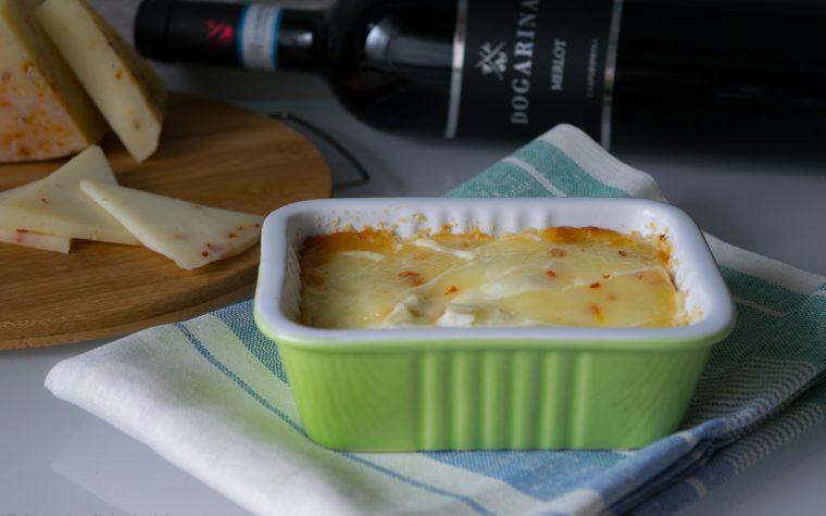 Gratin di finocchi e formaggio