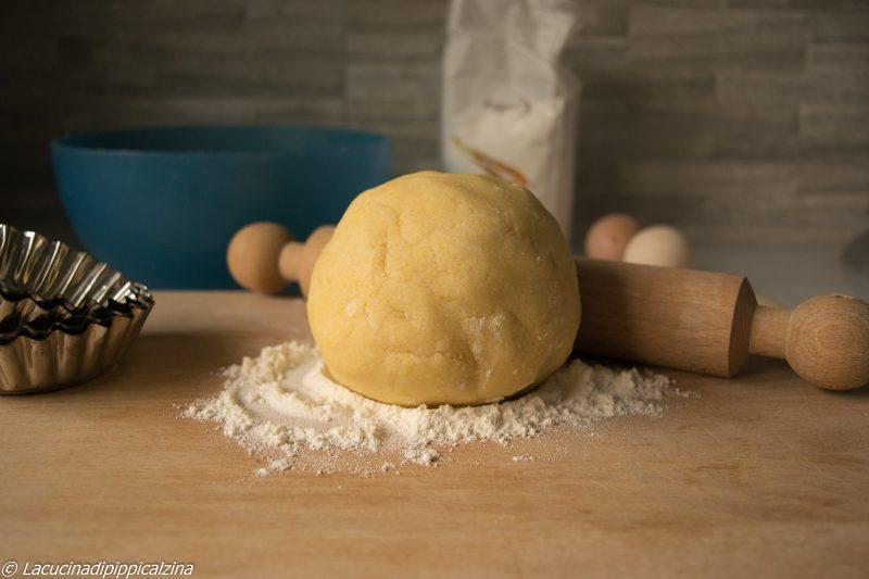 Pasta frolla di riso