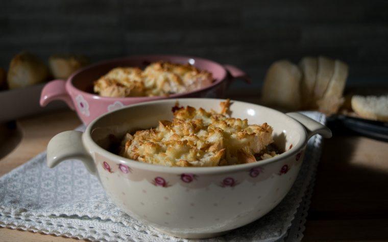 Les halles zuppa di cipolle