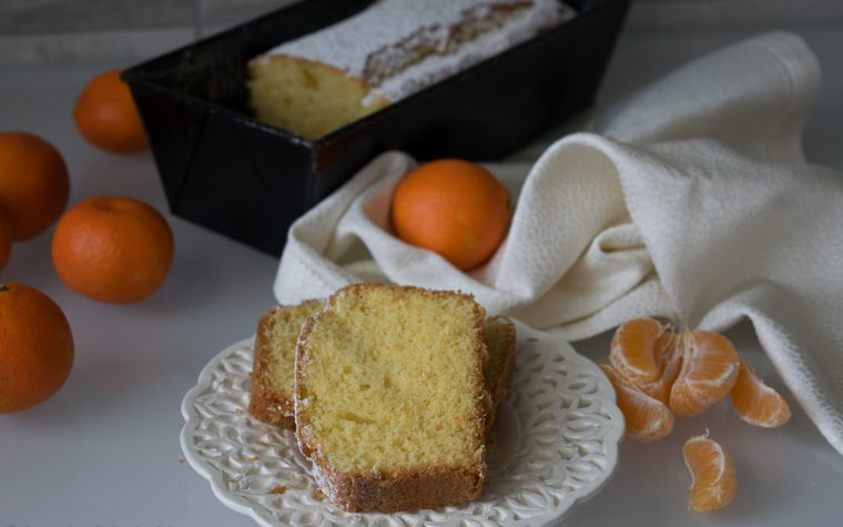 Plume-cake ai mandarini