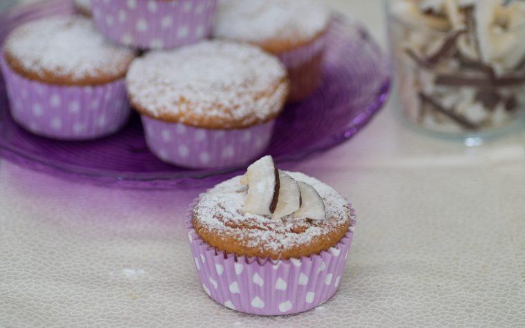 Muffin al cocco, senza glutine