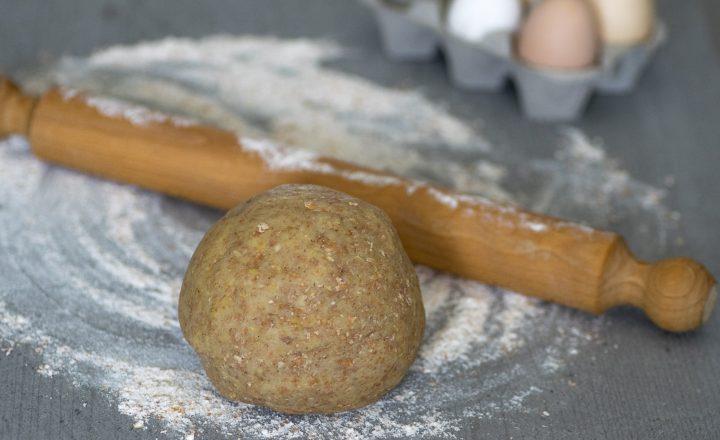 Pasta frolla integrale, impasto rustico