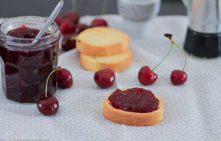 Confettura di ciliege, ricetta semplice