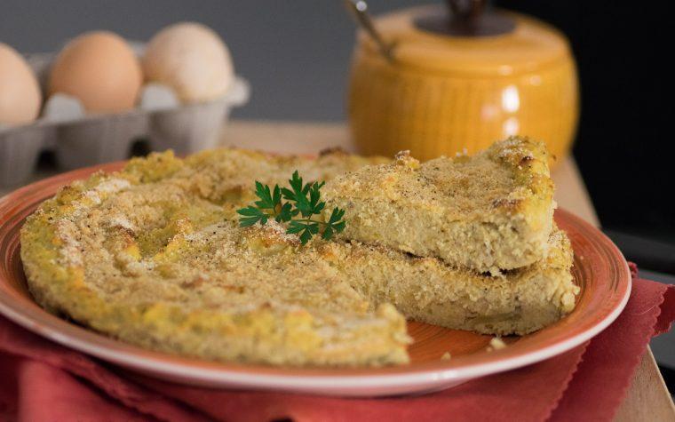 Sformato di patate e fagiolini