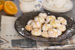 Biscottini profumati all'arancia