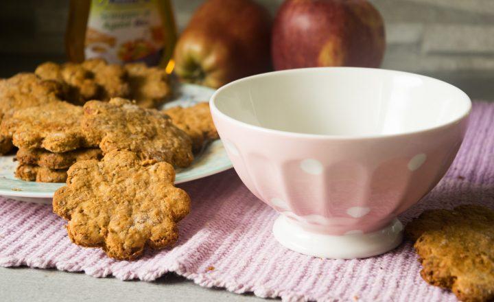 Biscotti allo sciroppo d'agave e vaniglia