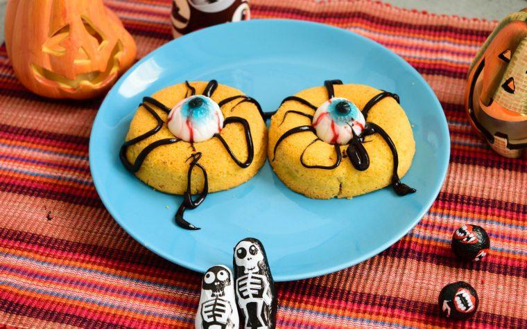 Occhi mostruosi, ricetta di Halloween