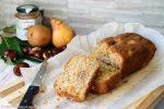 Plume cake pere e crema di castagne
