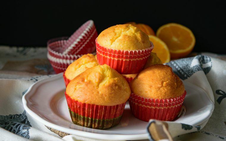 Muffin alle arance intere