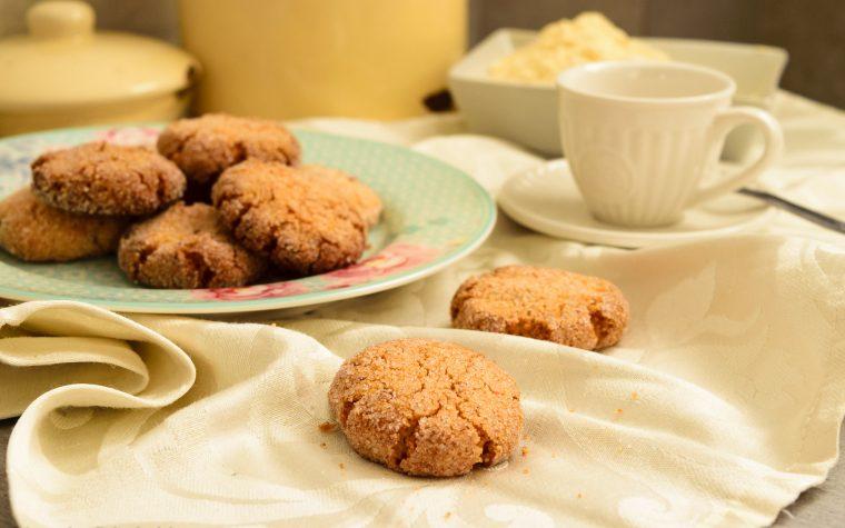 Frollini con farina di mais e vaniglia