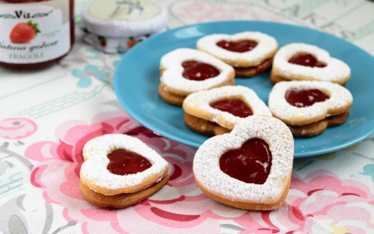 Biscotti delicati alle fragole