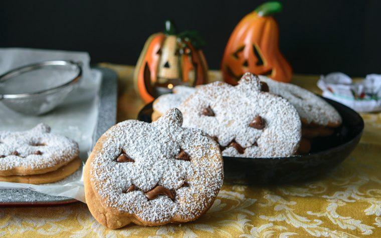 Zucchette di Halloween con Nutella