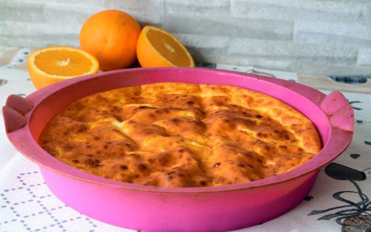 Torta da colazione all' arancia, in versione Dukan