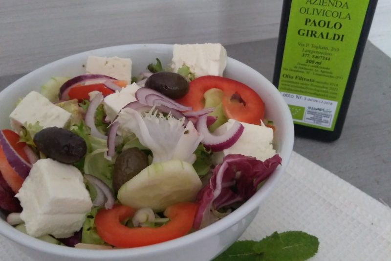 Insalata greca,o greek salad