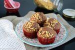Muffin al cacao e nocciole
