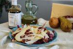 Insalata trevigiana con pere e aceto balsamico