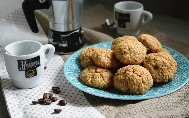 Biscottini morbidi al caffè