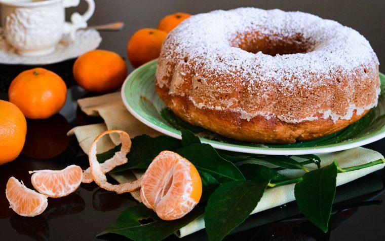 Ciambella ai mandarini frullati