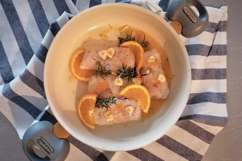 Merluzzo all arancia