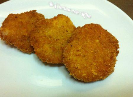 Mini cordon bleu di patate e formaggio