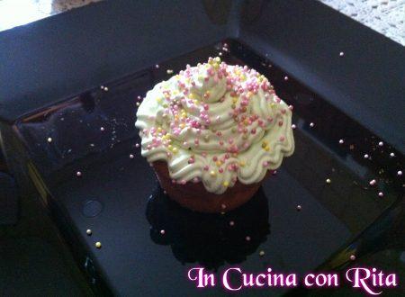 CupCake alla Vaniglia con Magic Cream al Pistacchio di Madame Loulou