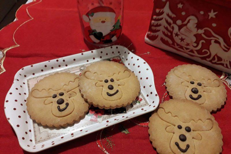 Biscotti renne di Natale