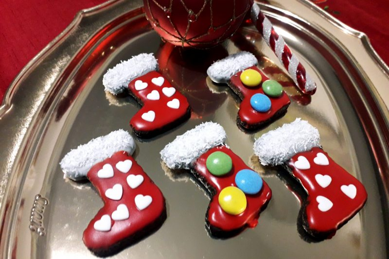 Biscotti calze di Natale