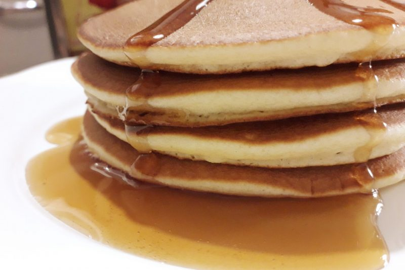 American pancakes (soffici e gonfi)