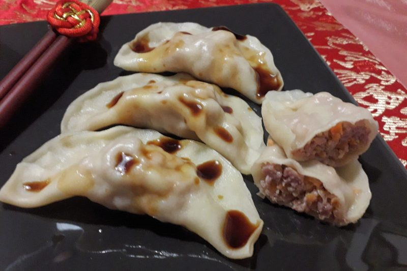 Ravioli cinesi al vapore – come al ristorante!